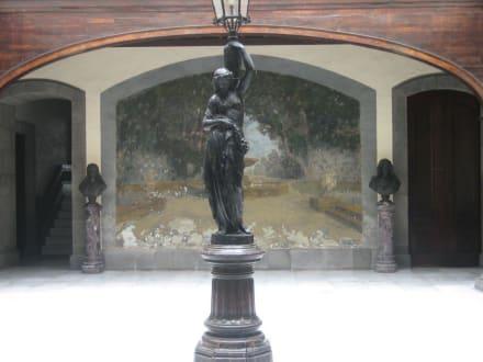 Innenhof eines Altstadt-Hauses - Altstadt Las Palmas/Vegueta
