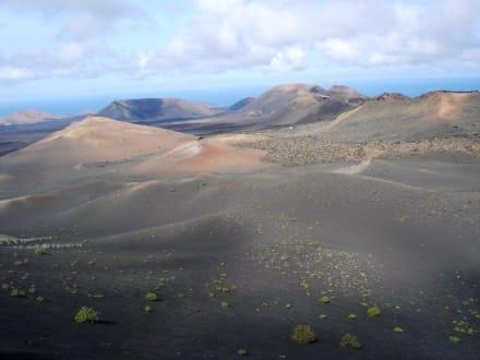 Vulkane auf Lanzarote - Nationalpark Timanfaya (Feuerberge)