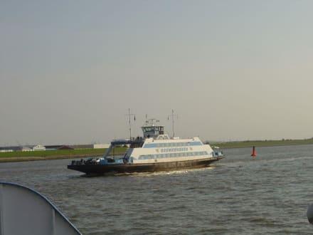 Fähre Nordenham - Bremerhaven - Ausflug per Fähre