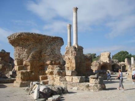 Nur noch Ruinen und einige Stellen - Ausgrabungen Karthago