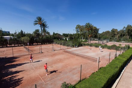 Tennis Courts -