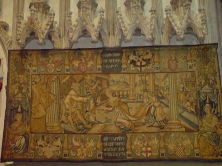 Wandteppich aus dem Jahr 1574 - Xantener Dom