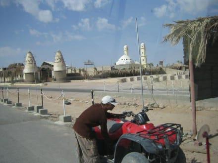 Einfahrt zum Quad-Center Hurghada - Quad Tour Hurghada