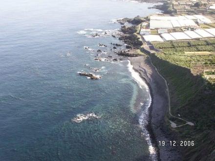 Der Ausblick von oben - Punta de Teno
