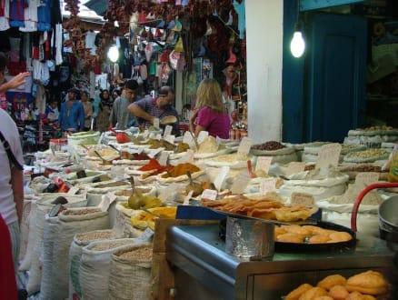 ... so riecht es im Orient ... - Markt Sousse