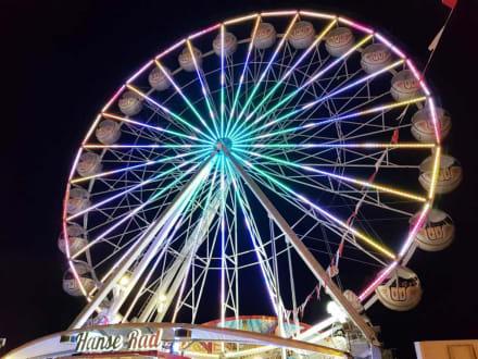 Das neue Riesenrad - Herbstvolksfest