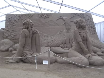 Avatar - Sandskulpturen Festival