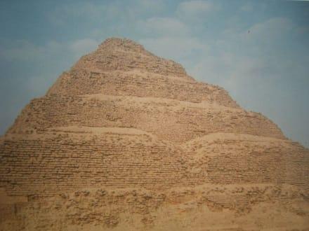 Sehr schön. - Stufenpyramide / Pyramide von Djoser
