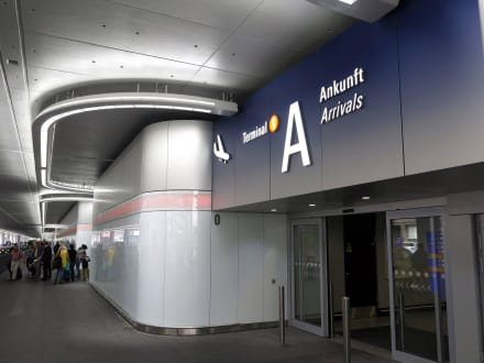 Flughafen Ankunft Frankfurt