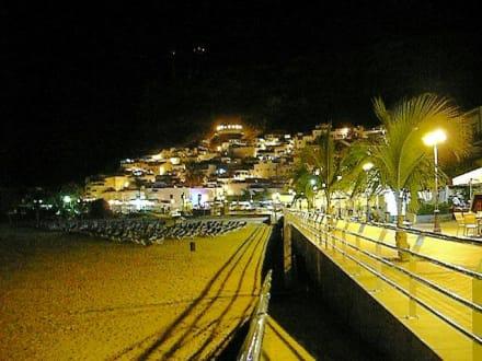 Strand am Abend - Strand Puerto de Mogán