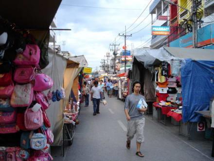 Auf dem Nachtmarkt - Nachtmarkt