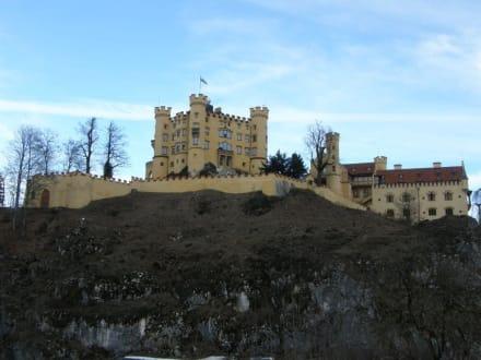 Außenansicht - Schloss Hohenschwangau