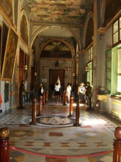 Korridor im Großmeisterpalast - Grandmaster's Palace / Grossmeister-Palast