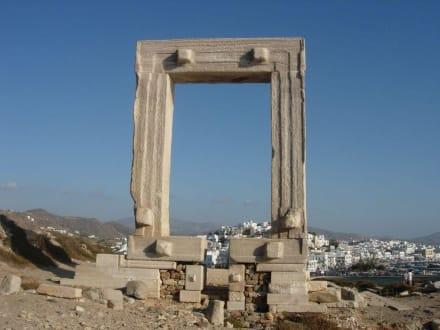 Tor des Apollonas - Tempel des Apollonas - Portara Naxos