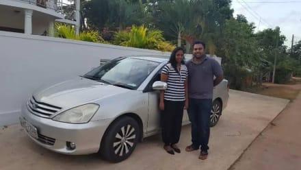 Tourenunternehmer Shiran mit seiner Frau Sachini - Sri Lanka Tagestouren von Negombo