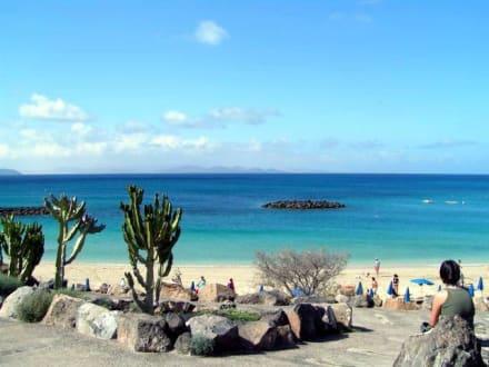 Lanzarote - Playa Blanca - Strand  Playa Blanca de Yaiza