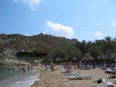 Der Strand von Vai - Strand Vái
