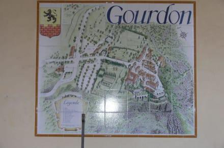 Plan - Burg Gourdon