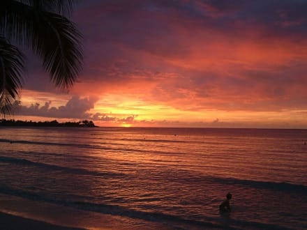 Sonnenuntergang Negril - Strand Negril