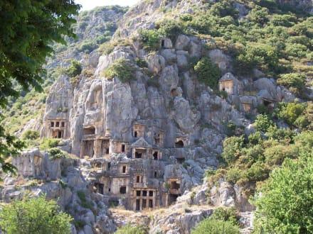 Felsgräber - Felsengräber von Myra