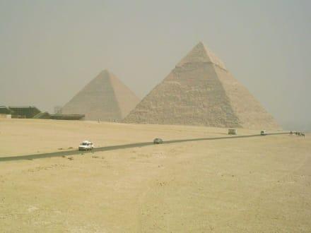 Die Pyramiden von Gizeh - Pyramiden von Gizeh