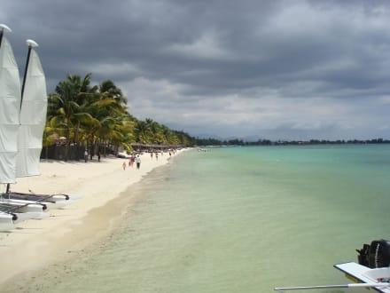 Bezness auf Mauritius - Strand Trou aux Biches