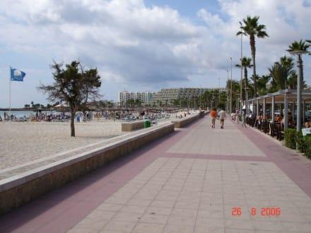Strandpromenade Sa Coma - Strand Sa Coma