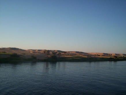 Sonnenuntergang - Felukenfahrt auf dem Nil