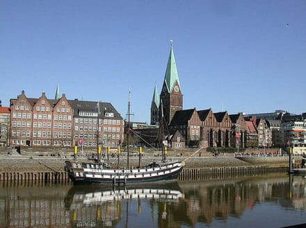 Bremen, Schachte - Schlachte Bremen