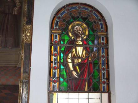 Fenster in der Kirche - Kirche Sant Antoni Abat