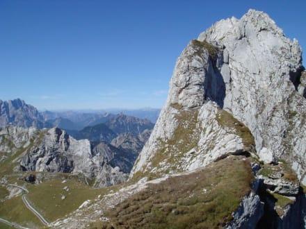 Bergtour in Slowenien - Mangart