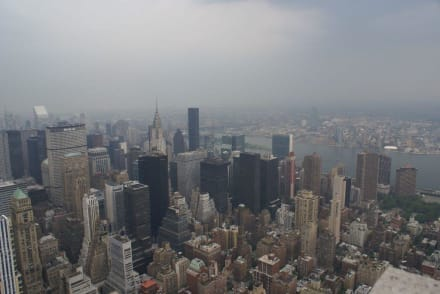 Blick aus dem 86. Stock - Empire State Building
