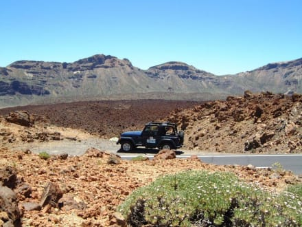Landschaft um den Teide - Teide Nationalpark