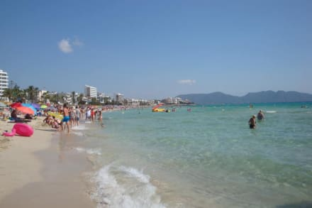 Angenehme Temperatur ,für Kinder geeignet - Strand Cala Millor