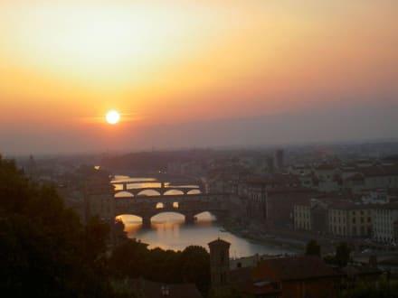 Sonnenuntergang - Piazza Michelangelo