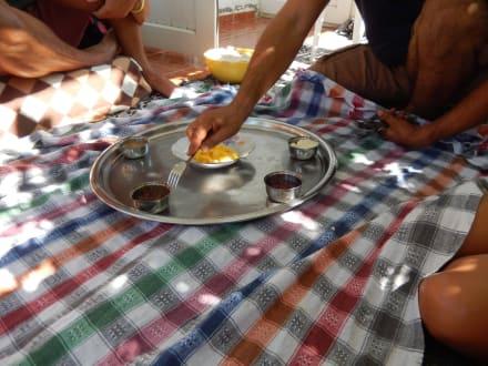 Frühstück, Ei und Marmelade - Efe's Ausflüge