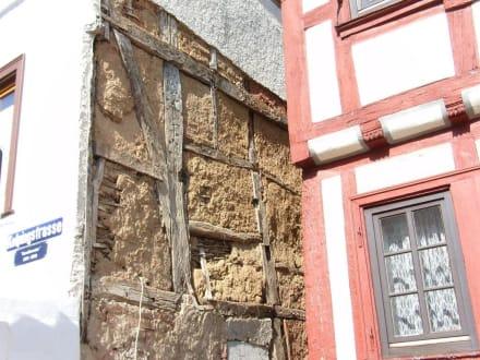Typischer Aufbau eines Fachwerkhauses - Stadtführung Limburg