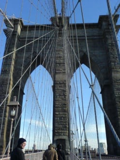 tolle Architektur  - Brooklyn Bridge