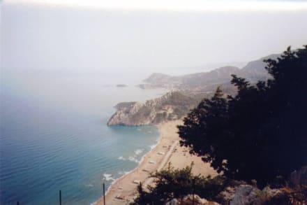 Bucht von Tsambika - Strand Tsambika