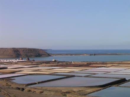 Noch ein Blick auf die Salinen - Salinas de Janubio
