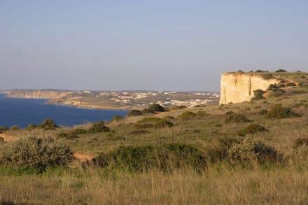 Wanderung von Porto de Mós nach Luz - Küste Lagos