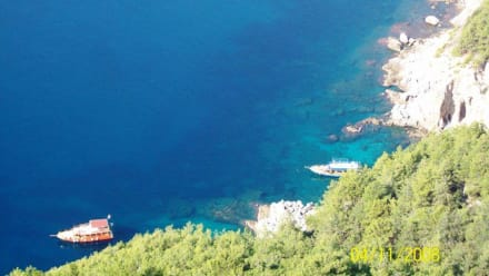 Blick von der Burg - Burg von Alanya  (Ic Kale)
