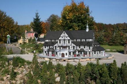 Modell der Friedenskirche in Schweidnitz - Miniaturenpark der niederschlesischen Denkmäler