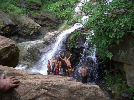 Wasserfall Rawana Ella - Ravana Ella Wasserfall