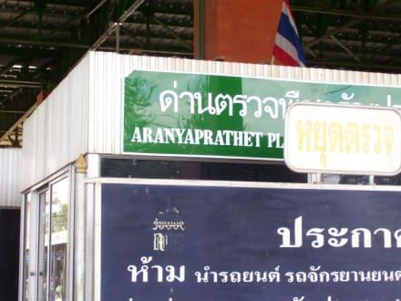 Grenzübertritt Aranyaprathet - Markt