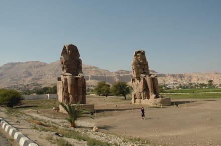 Luxor - Kolosse von Memnon