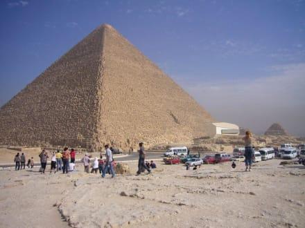 Hier ist was los - Pyramiden von Gizeh