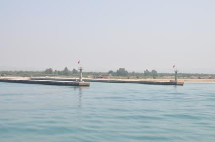 Flussmündung Manavgat - Bootstour Calypso Colakli