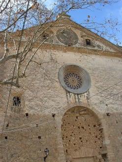 Kirchenteilabschnitt - Altstadt Valldemosa/Valldemossa
