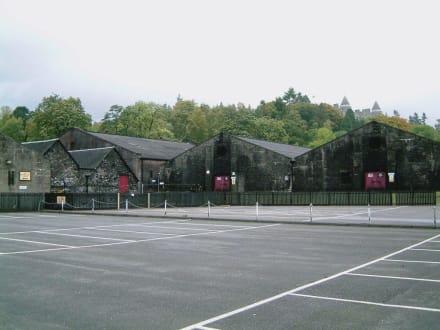 Lagerhäuser der Blair Atholl Destille in Pitlochry - Blair Atholl Destillerie